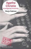 Agatha Christie : Investigating Femininity