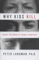 Why Kids Kill