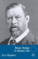Bram Stoker: A Literary Life (Literary Lives)