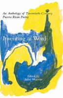 Inventing A Word