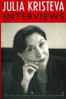 Julia Kristeva, Interviews