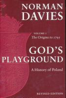 God's Playground, A History of Poland in Two Volumes