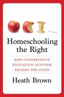 Homeschooling the Right