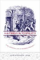 Hatred & Civility