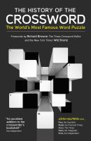 The History of the Crossword
