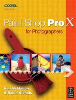 Paint Shop Pro X for Photographers