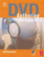 DVD Authoring With DVD Studio Pro 2.0
