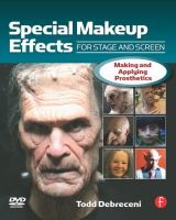 Special Make-up Effects for Stage and Screen