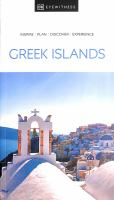 DK Eyewitness the Greek Islands