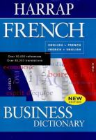 French Business Dictionary