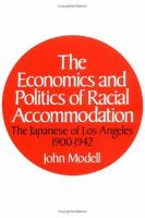 The Economics and Politics of Racial Accommodation