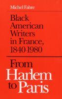 From Harlem to Paris