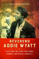 Reverend Addie Wyatt