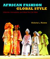 African Fashion, Global Style