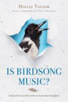Is Birdsong Music?