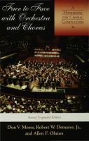 Face to Face With Orchestra and Chorus