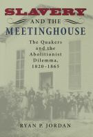Slavery and the Meetinghouse