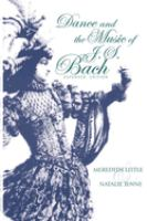 Dance and the Music of J.S. Bach