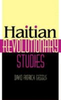 Haitian Revolutionary Studies