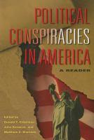 Political Conspiracies in America