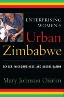 Enterprising Women in Urban Zimbabwe