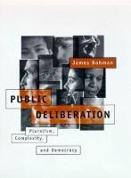 Public Deliberation