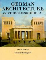 German Architecture and the Classical Ideal