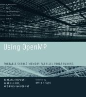 Using OpenMP