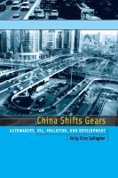 China Shifts Gears