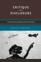 Critique and Disclosure