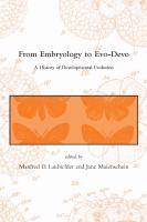 From Embryology to Evo-Devo