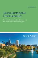 Taking Sustainable Cities Seriously