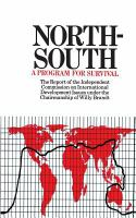 North-South, A Programme for Survival