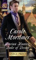 Darian Hunter, Duke of Desire