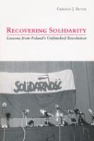 Recovering Solidarity