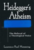 Heidegger's Atheism