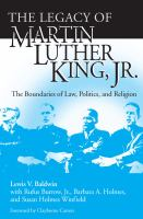 The Legacy of Martin Luther King, Jr