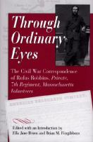 Through Ordinary Eyes