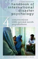 Handbook of International Disaster Psychology
