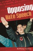 Opposing Hate Speech