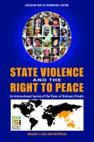 State Violence and the Right to Peace