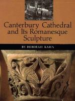 Canterbury Cathedral and Its Romanesque Sculpture