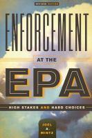 Enforcement at the EPA