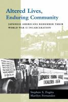 Altered Lives, Enduring Community