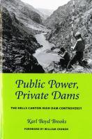Public Power, Private Dams