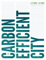 The Carbon Efficient City