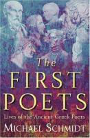 The First Poets