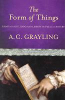 The Form of Things