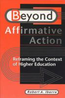 Beyond Affirmative Action