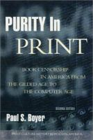 Purity in Print